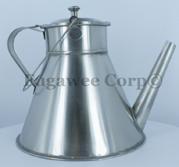 The Small Colonial Tea Pot, Stainless Steel