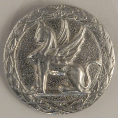 101 L Pewter Button