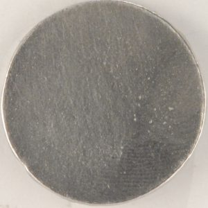 129 L pewter button