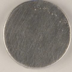 flat pewter button can be personalized, 130