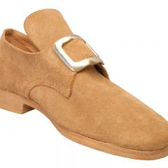 Concord, Colonial natural rough-out shoe