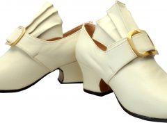 Martha shoe in Bone