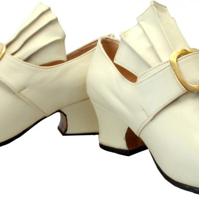 Martha shoe in Bone