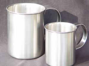 Stainless Steel large Cup Heavy gauge.