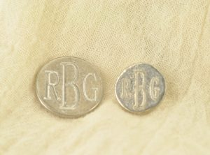 Custom engraved buttons