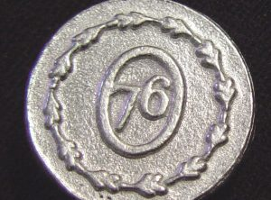 Military Pewter Button, 7/8″, 77
