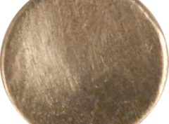 Concave Pewter Button, 103. Hand made in the USA