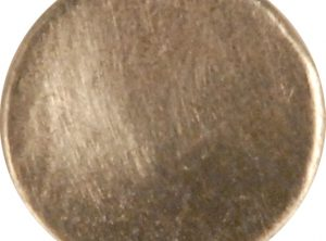 Concave Pewter Button, 104. Hand made in the USA