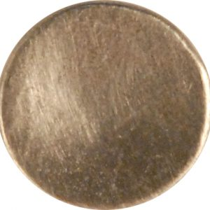 103 S, Concave Pewter Button