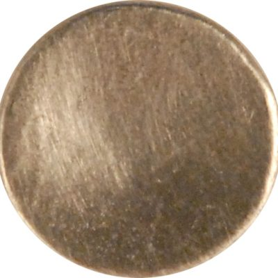 Concave Pewter Button, 103