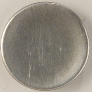 105 M Concave Pewter Button