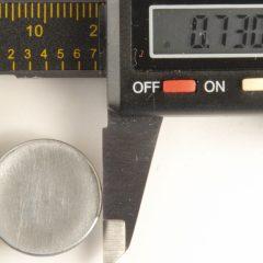 105 M Concave Pewter Button