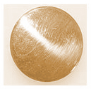 107 Brass Low Dome Button 7/8ths