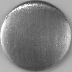 107 L, Domed Pewter Button