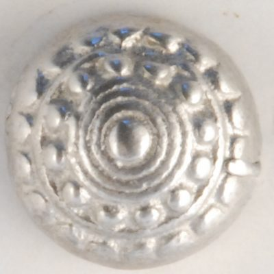 Acorn design, very high domed, Pewter Button, 1/2, 119