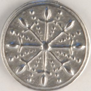 Dirk, Pewter Button, 5/8″, 120