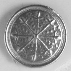 Dirk, Pewter Button, 7/8″, 122