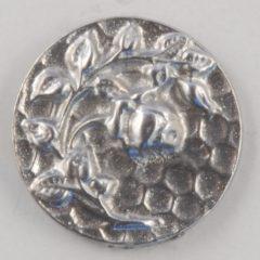Rose design, old rose, Pewter Button 5/8, 135