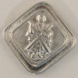 144 St. Andrew Pewter Button