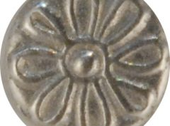 Daisy, tiny Pewter Button, 3/8″, 145