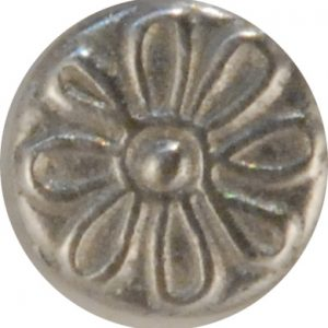 145  Daisy, Pewter Button