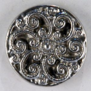 164 Swirls Pewter Buttons