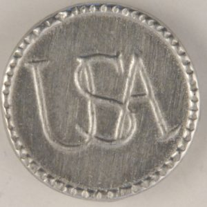 167 L USA Continental Army Pewter Button