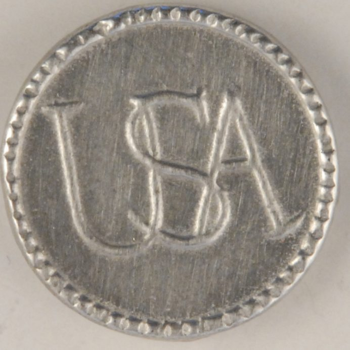 Dating pewter usa button