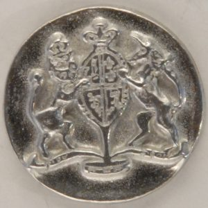 170 L Williamsburg Pewter Button