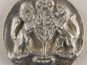 Williamsburg Pewter Button, 171