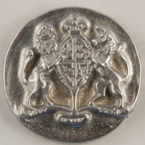 171 M, Williamsburg Pewter Button
