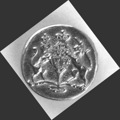 Williamsburg Pewter Button, 9/16″, 172