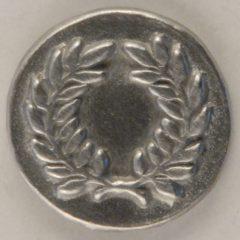 Laurel Wreath, Pewter Button, 5/8″, 174