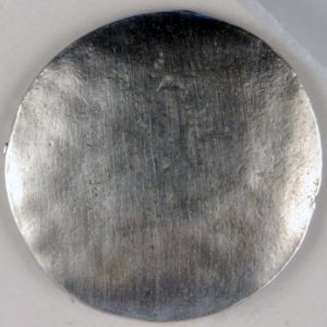 175 L, High Domed Pewter Button