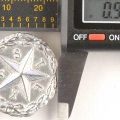 Texas Star Pewter Button, 1″, 181