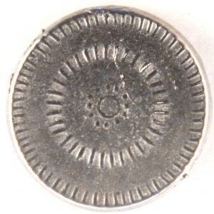 Early circular pattern Pewter Button, 7/8″, 183