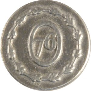 Military Pewter Button, 5/8″, 76