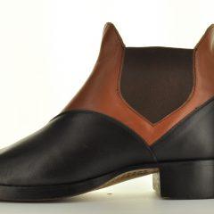 Congress Gator, Black & Brown, Civil War Men's pull-on Shoe