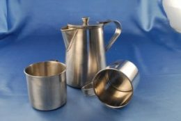 Stainless steel camp wear