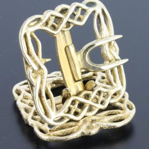 Celtic Brass Colonial Shoe buckle