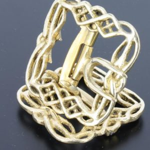 Celtic Brass Colonial Shoe buckle