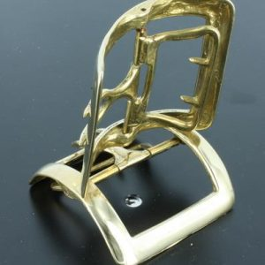 Colonial Brass Buckle, Military #3