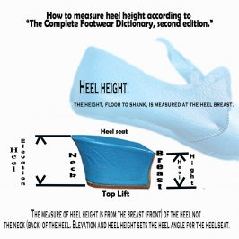 If your breast is above your top lift, are you a Heel? Heel Hight.