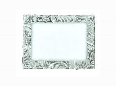 Fancy Pewter Picture frame 2 3/8 X 3 ½. Hand made in the USA