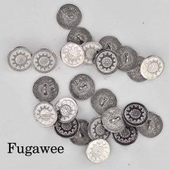 Sunflower buttons