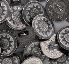 Close up Sunflower buttons