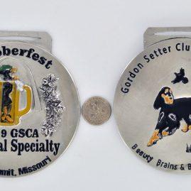 Gordon setter club of America prize