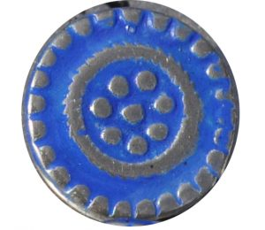 Fugawee Button 252 Back in Blue