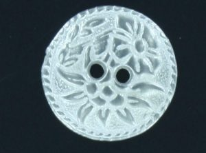 Two hole Floral Buttons