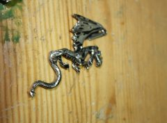 Flying Dragon Necklace Made in USA